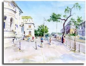 Картина Венгрия. Посольство.