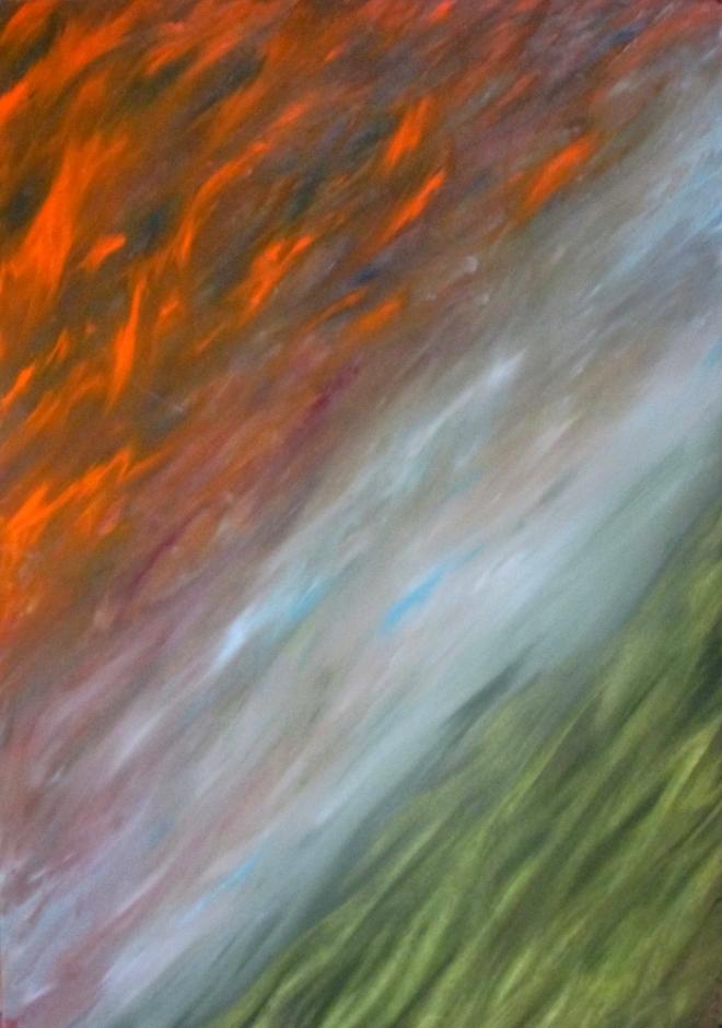 Картина маслом Полёт