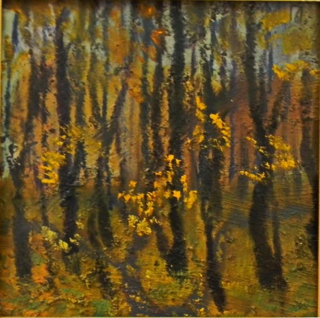 Осень в Помосковье (этюд)
