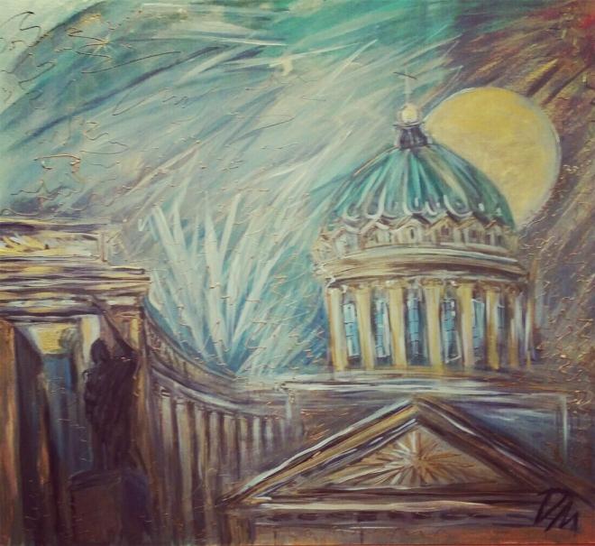 Казанский Собор Ночи