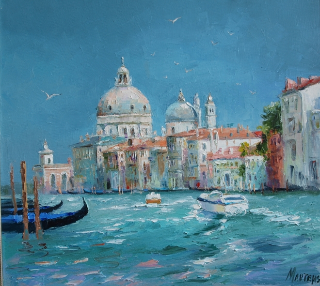 Большой канал . Венеция