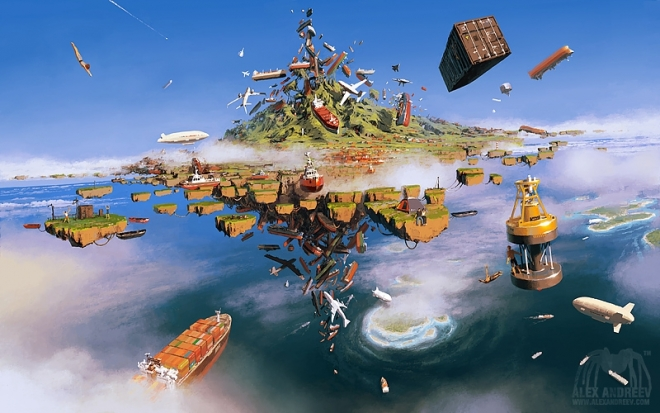 Картина Island Of Lost Ships