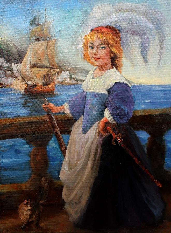 Картина Маленькая пиратка