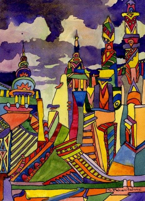 Картина Сторожевые башни