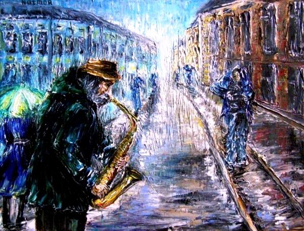 Одинокий саксофон