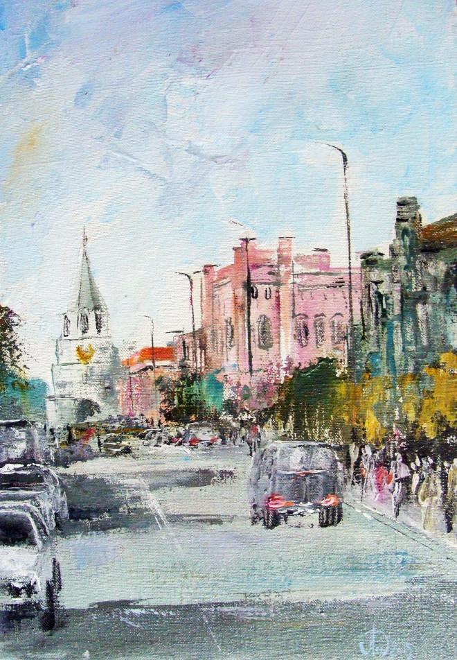 Картина на холсте Улица Советская