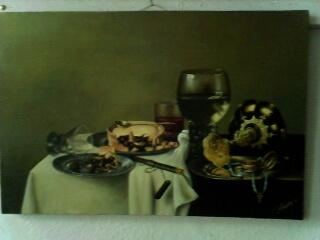 завтрак с ежевичным пирогом 1631г. (копия)