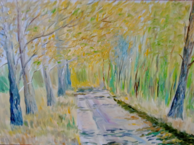 Весенний пейзаж 8
