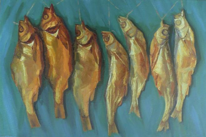 Картина маслом на холсте Великолепная семерка.