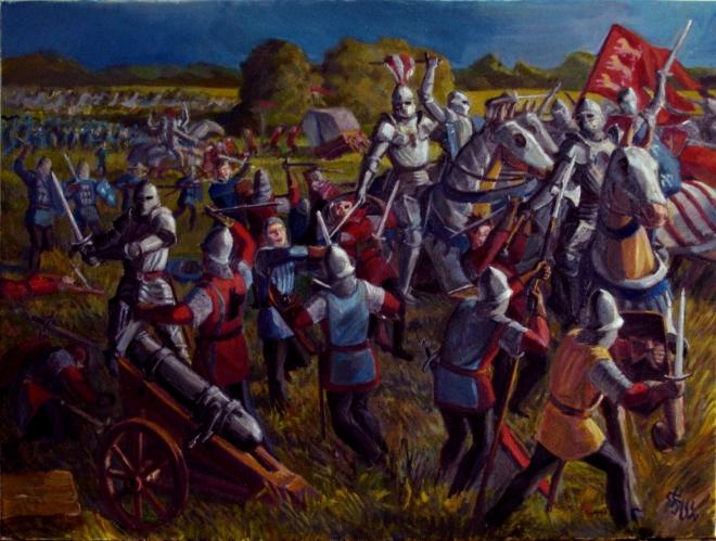 Битва при Патэ. 1429
