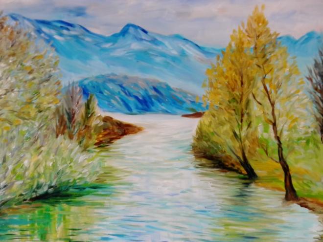 Горная река 5