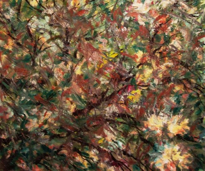 Картина маслом на холсте Август