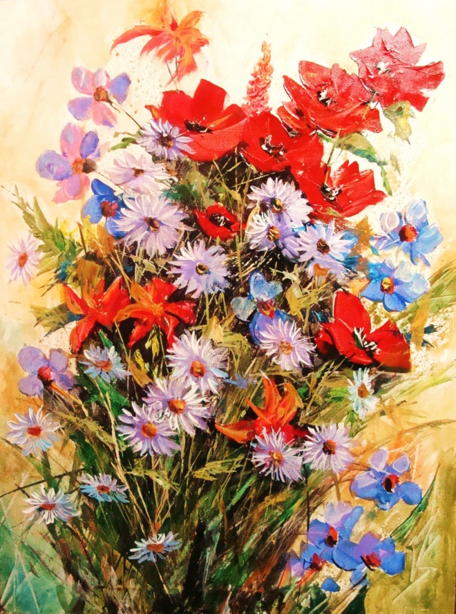 Картина на холсте Букет