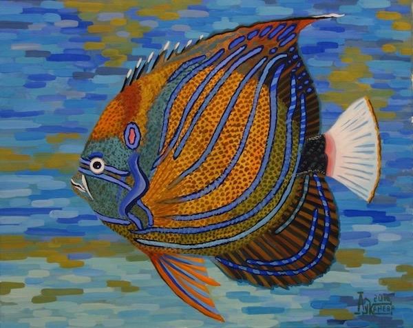 Тропическая рыба 2