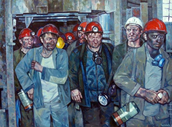 Донетские шахтёры