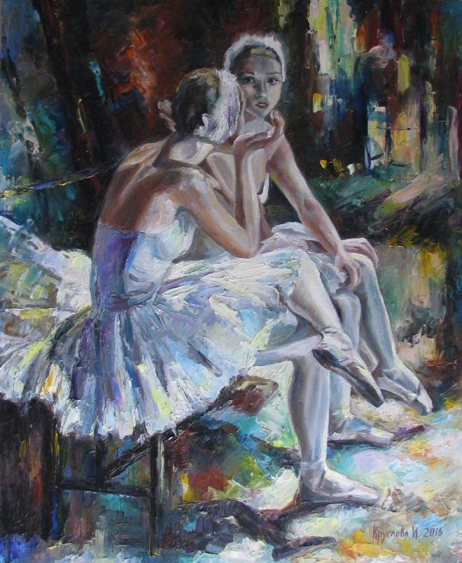 Балерины перед премьерой