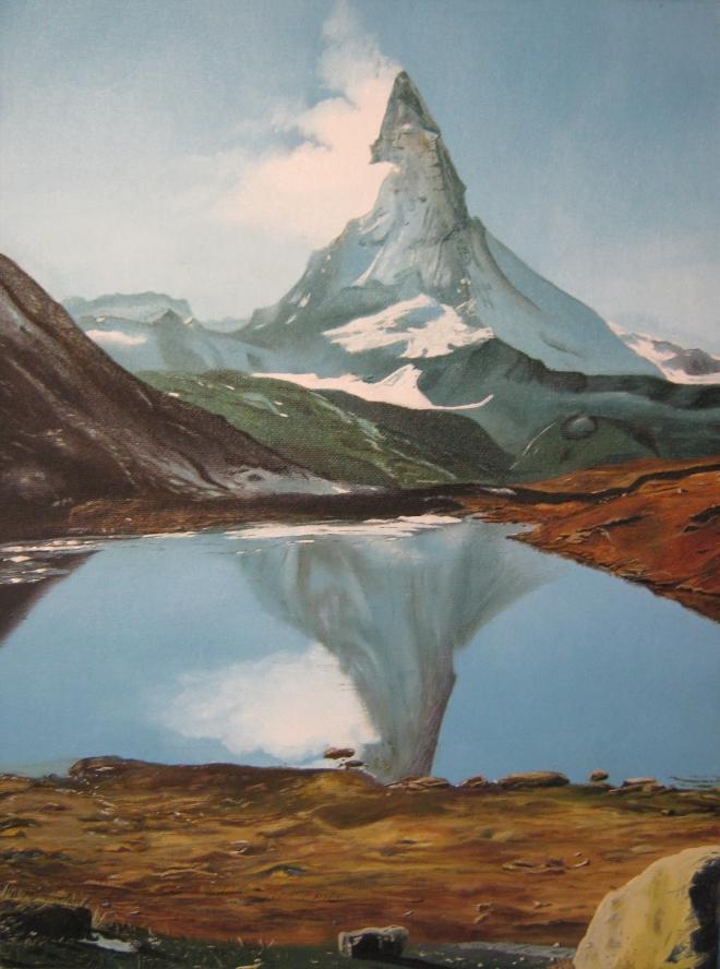 Швейцарские Альпы. Гора Маттерхорн.