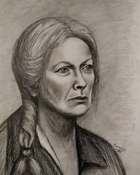 Портрет взрослой женщины.