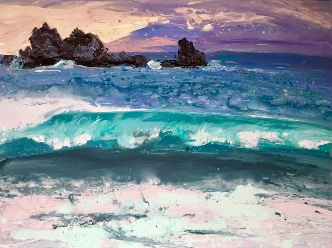 Картина Дыхание моря