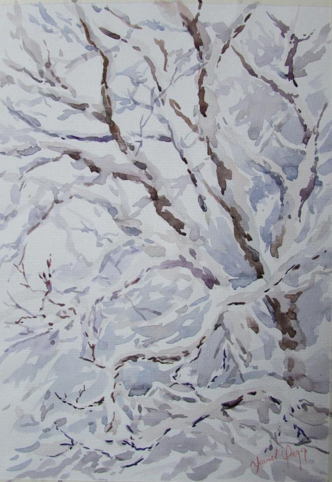 Серебряный снег.