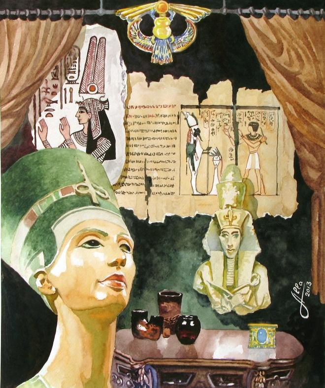 Эхо тысячелетий.  Египет.