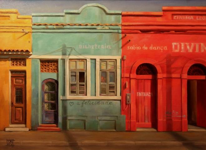 "Картина Рио. Из серии ""Фасады"""