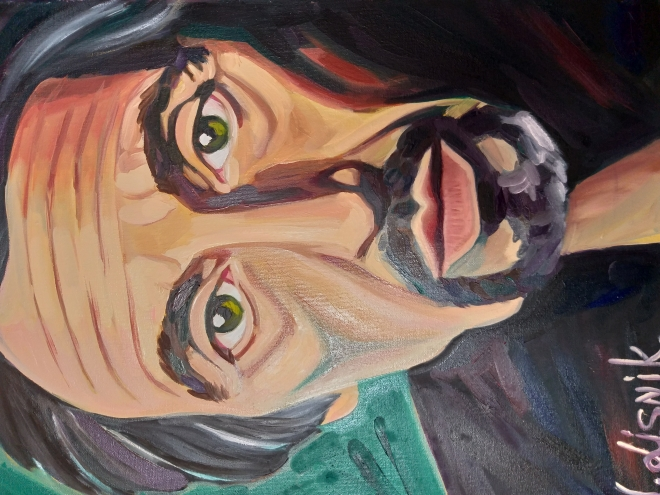 Картина маслом на холсте Аль Пачино