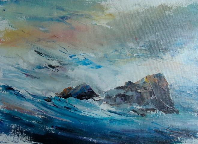 Картина на холсте Прибрежные камни