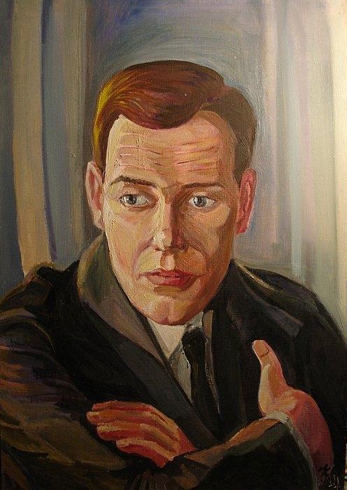 Портрет Георгия Жженова