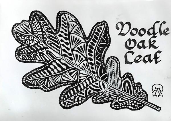 Картина Дудл-дуб