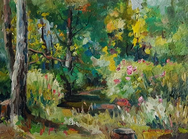 Ручей в Измайловском лесу