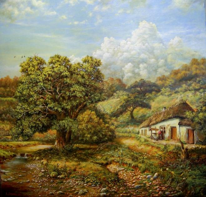 Картина маслом на холсте Tranquillo