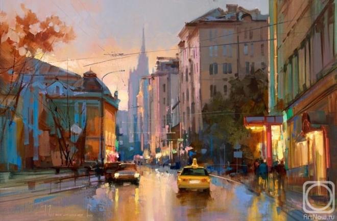 Улица Поварская. Добрый вечер