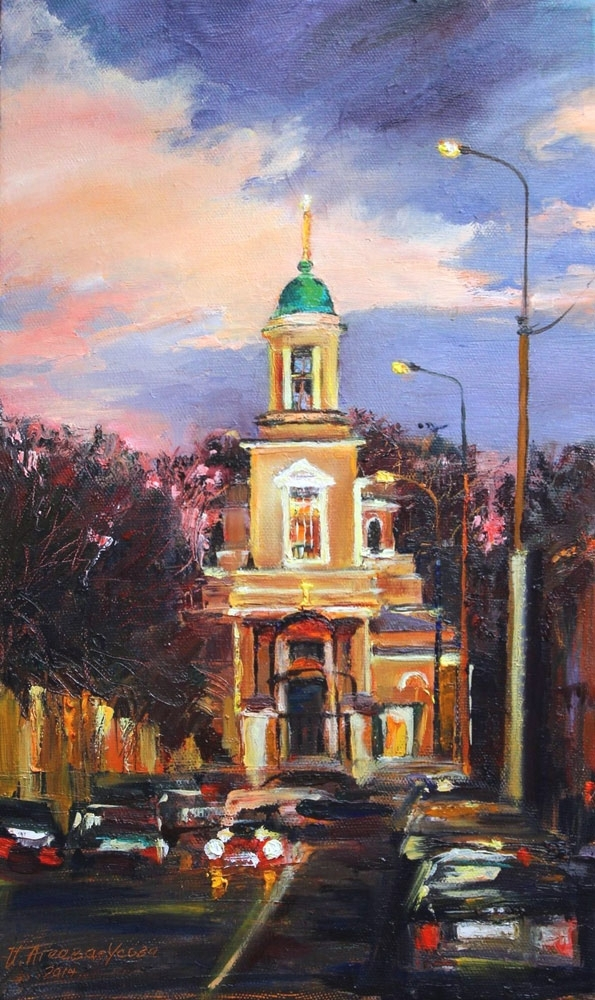 Картина Храмы Москвы