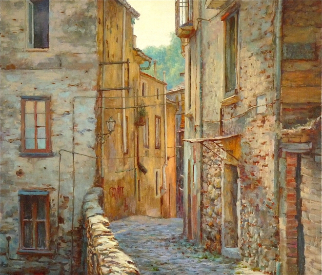 В старом городе ( Козенца )