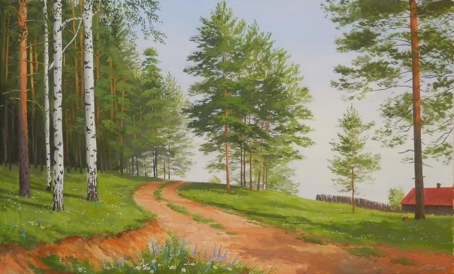 Лес на краю посёлка