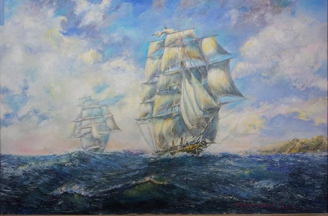 Южный ветер ( клиппер Cutty Sark )