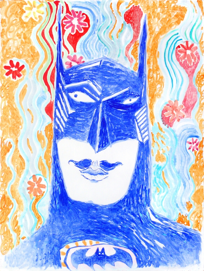 Картина на холсте Бэтмен