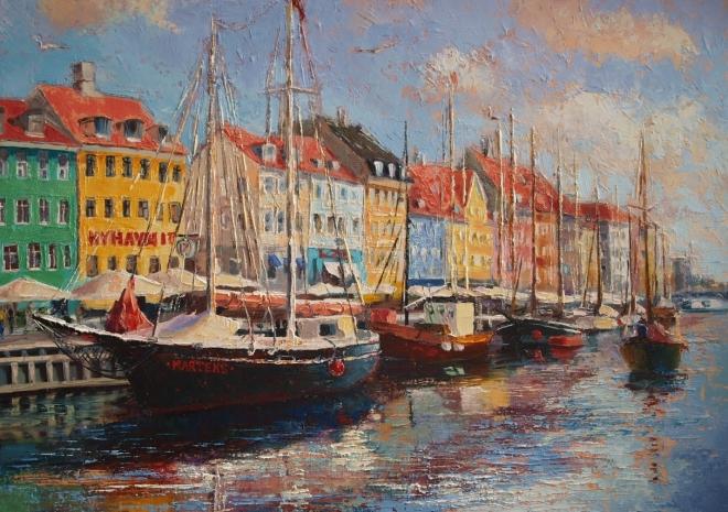 Новая гавань. Копенгаген