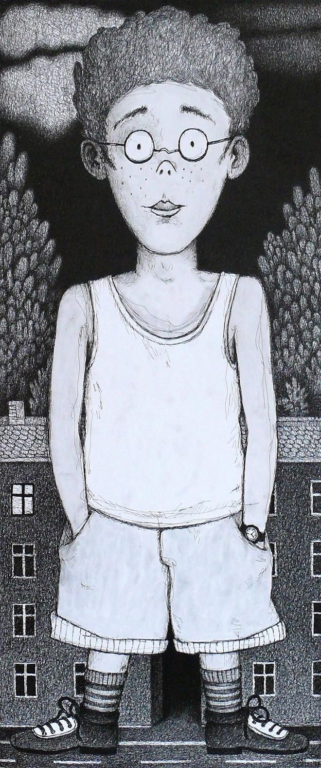 Картина Очкарик