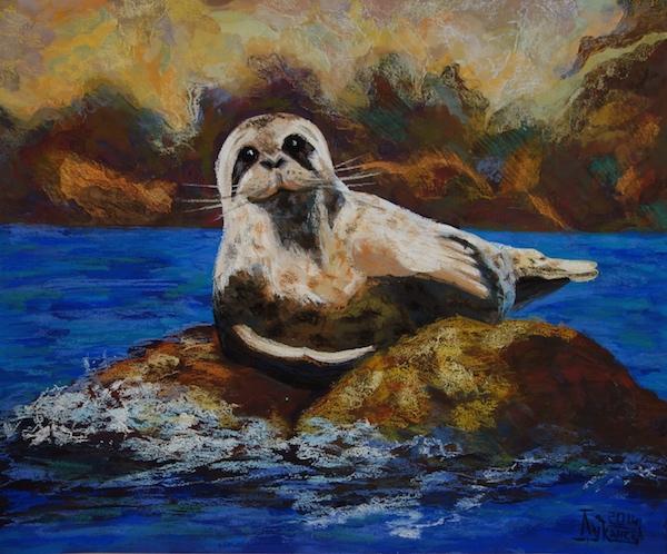 Картина Пятнистый тюлень