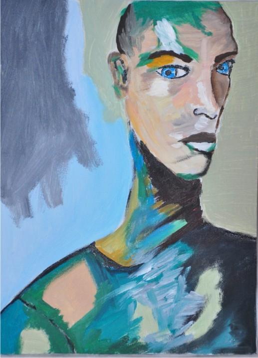 Одинокий художник
