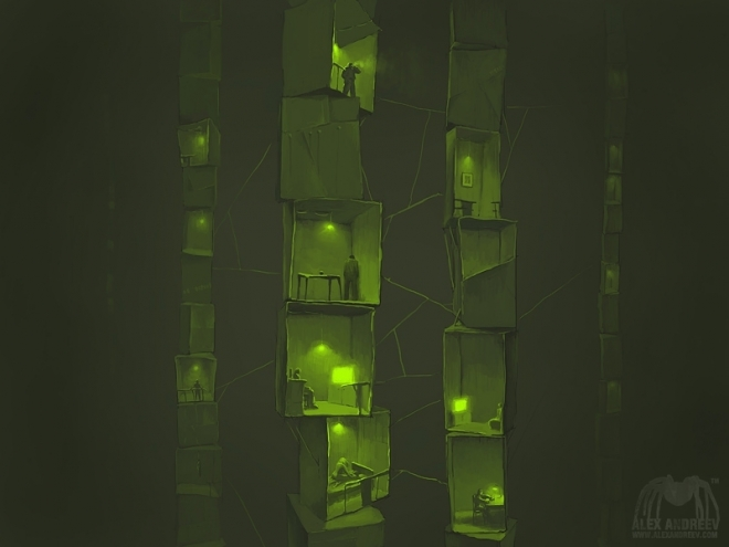 Картина Boxes Game