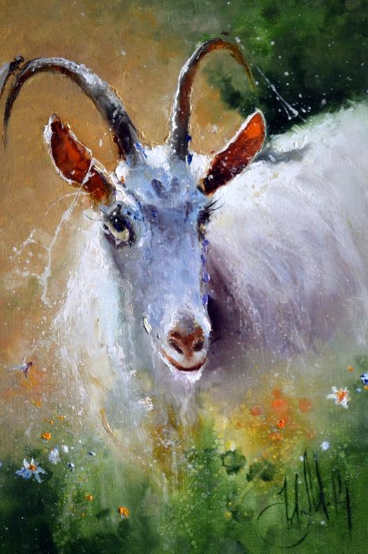 Картина маслом на холсте Дерезза
