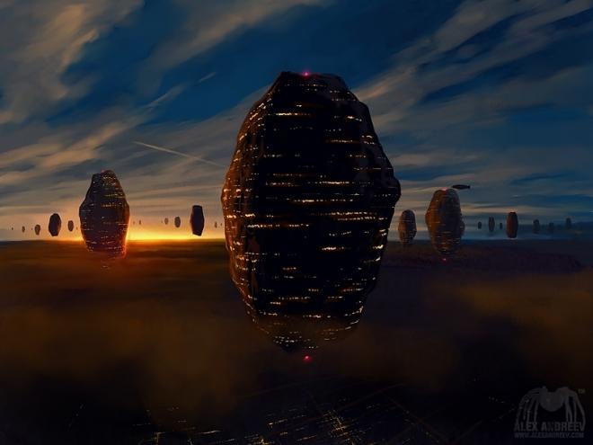 Картина Утро на уровне B, 2009
