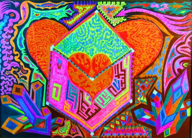 Псевдоразумное, кристаллическое сердце.