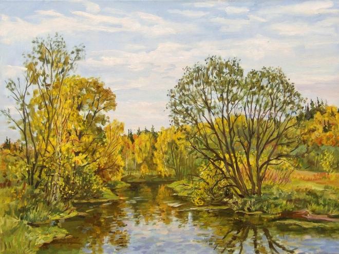 Осень на реке Воря