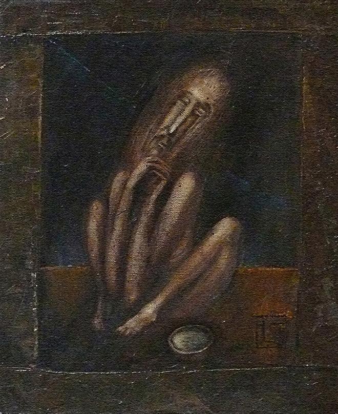 Картина маслом на холсте Дервиш.