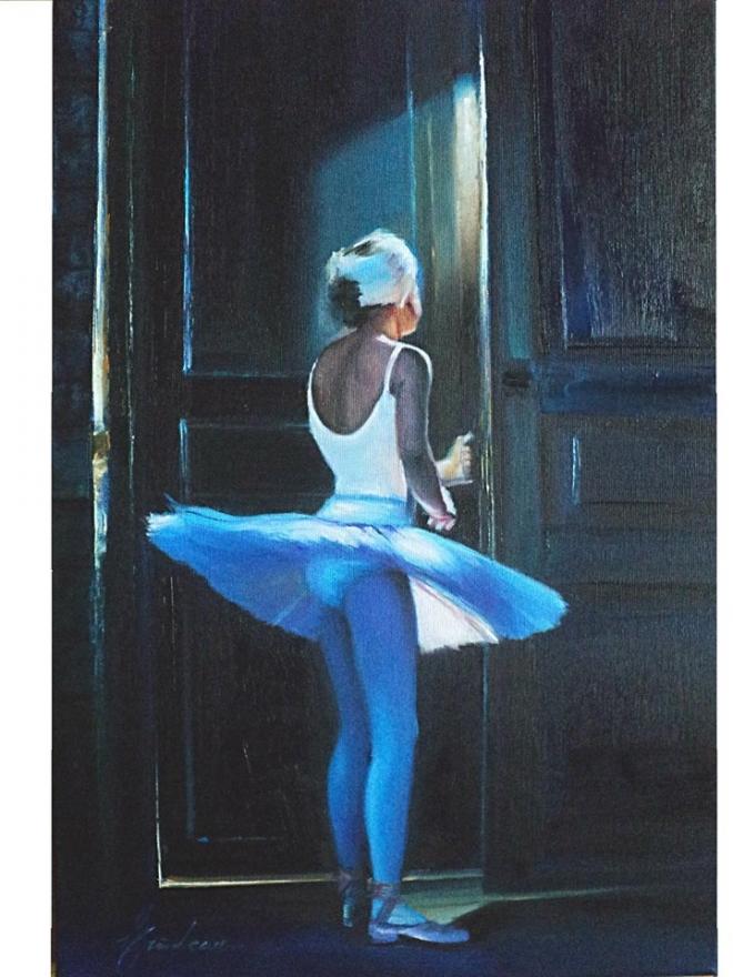 Первый урок балета