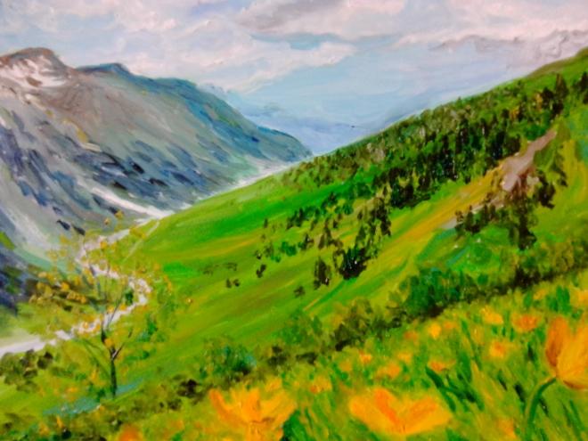 Горный пейзаж 4